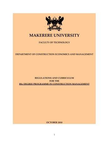Downloading - Office of the Academic Registrar - Makerere University