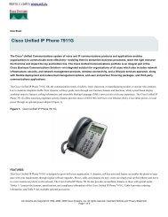 Cisco Unified IP Phone 7911G