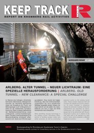 Download Keep Track Ausgabe 07_2006 - Rhomberg Bahntechnik