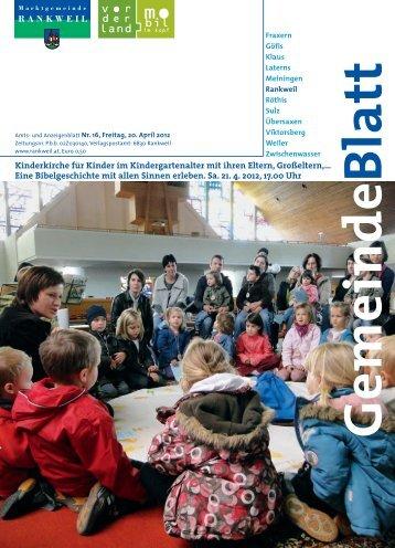 Kinderkirche für Kinder im Kindergartenalter mit ihren Eltern ...
