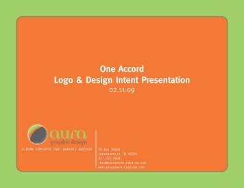 One Accord Logo & Design Intent Presentation