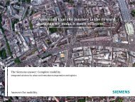 Complete mobility - Siemens