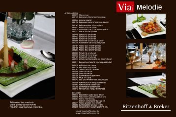 Melodie - Ritzenhoff & Breker