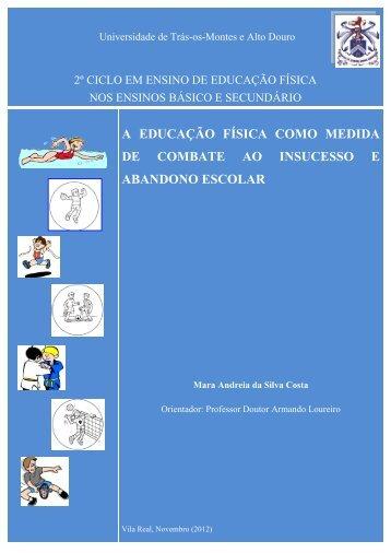 a educação física como medida de combate ao insucesso e ...