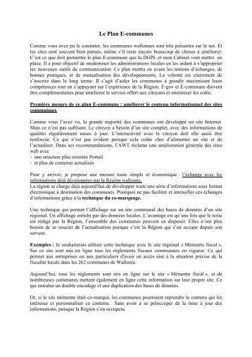 Le Plan E-communes (.PDF 82 k) - Awt