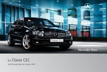 04 - CLC:Tarifs - Mercedes-Benz France