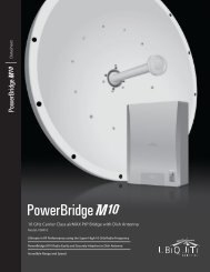 Download Powerbridge M10 Datasheet - Ubiquiti Networks