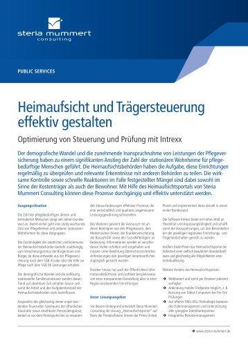 Heimaufsicht (PDF) - Steria