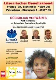 RÜCKBLICK VORWÄRTS Kurt Tucholsky - Caritasverband für die ...