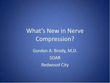 Compressive Neuropathies