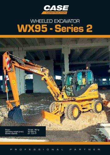 WX95 - Series 2 - CASE CE