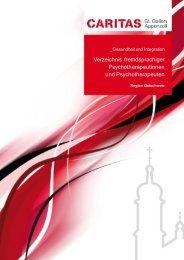 Verzeichnis fremdsprachiger ... -  Caritas St.Gallen