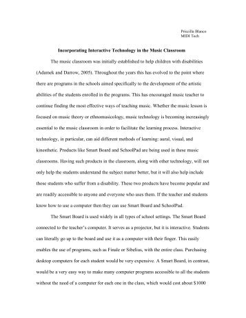 benefits of technology in the classroom essay An ambitious way to use technology in the classroom, you can introduce a game-based learning platform most are designed to engage students, enlivening difficult topics and subjects.