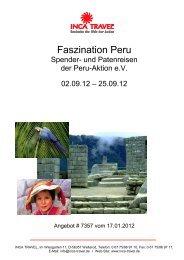 Faszination Peru - Peru-Aktion