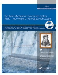 The Water Management Information System WISKI – your complete ...