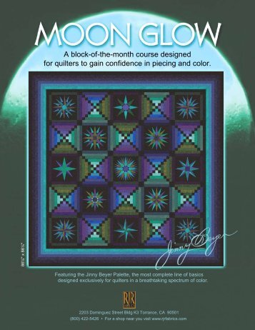 A block-of-the-month course designed for ... - Plum Creek Quilts