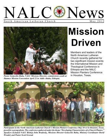 May 2012 - North American Lutheran Church