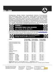 FORMEL 1 GROSSER PREIS VON SPANIEN - Sektion beider Basel