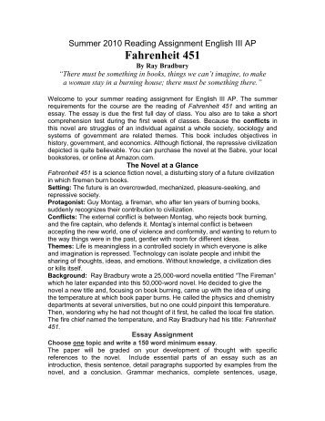 Topics For An Essay Paper Essay Fahrenheit  Fahrenheit  Should Condoms Be Available In High School Essay also How To Write A Proposal Essay Outline Essay Fahrenheit   Romefontanacountryinncom Examples Of Proposal Essays
