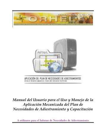 Manual del Usuario - Portal Gobierno.PR
