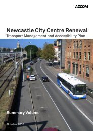 Newcastle City Centre Renewal Transport Management and ...