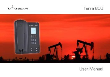 Terra 800 User Manual (PDF - 1.51mb) - Evosat