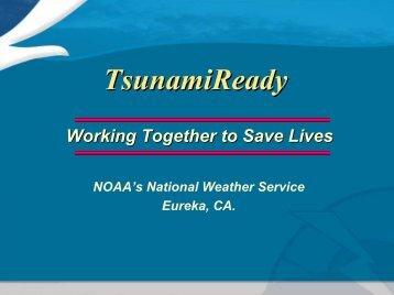 Tsunami Ready - California Coastal Commission