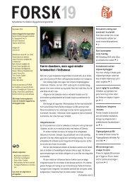 forsk19 - Statens Byggeforskningsinstitut