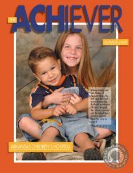 sibling cochlear implant patients - Arkansas Children's Hospital