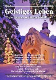 Weihnachten oder die geweihte Nacht - der Lorber-Gesellschaft eV