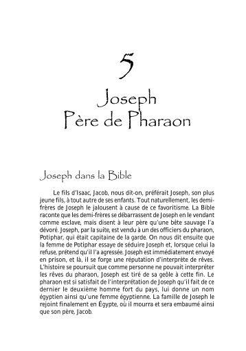 Joseph Père de Pharaon