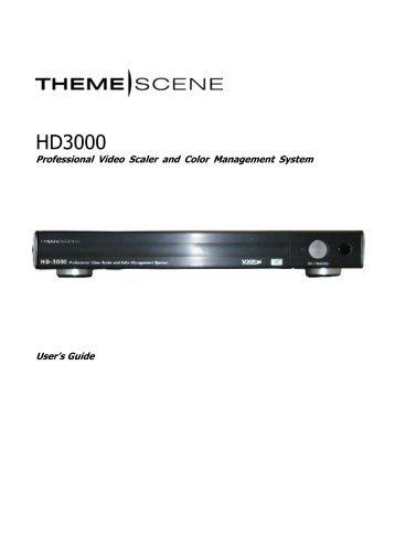 HD3000 - Optoma Europe
