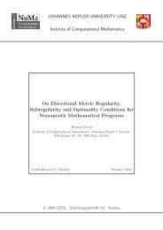 On Directional Metric Regularity, Subregularity and Optimality ...