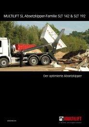 Prospekt MULTILIFT SLT 142/192 - HIAB Multilift Rhein-Main GmbH