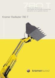 Kramer Radlader 780 T - Lectura SPECS