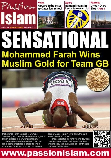 Mohammed Farah Wins Muslim Gold For Team GB - Passion Islam
