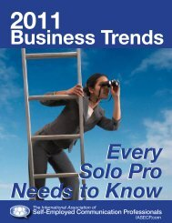 Self-Employed Communication Professionals - IASECP.com
