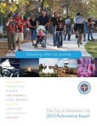 2012 Performance Report - City of Oklahoma City