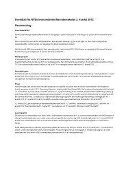 Hovedtall fra NVEs leverandørskrifteundersøkelse 2. kvartal 2012 ...