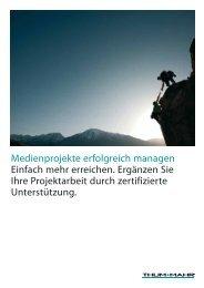 Medienprojekte erfolgreich managen Einfach mehr ... - Thum+Mahr