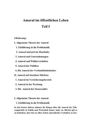 072 Amoralisches Verhalten in Wirtschaft und Politik Teil III pdf
