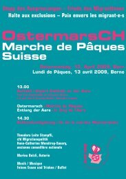 OstermarsCH - Frauen für den Frieden Schweiz