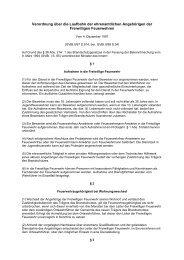 Verordnung über die Laufbahn der ehrenamtlichen ... - KFV-OSL