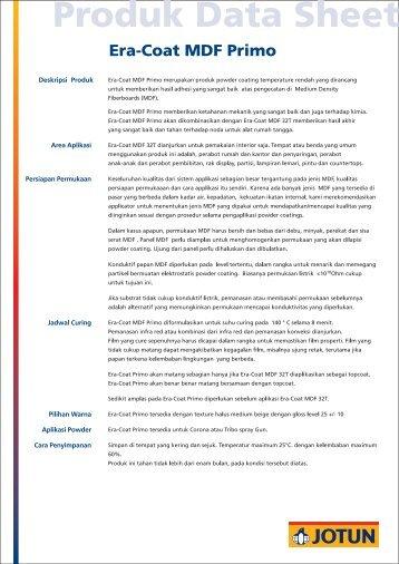 Deskripsi Produk Area Aplikasi Persiapan Permukaan ... - Jotun
