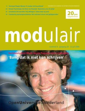 Modulair 9 - Open Universiteit Nederland