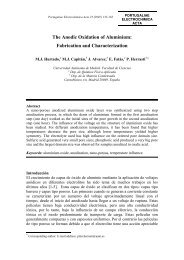 The Anodic Oxidation of Aluminium: Fabrication and ... - SciELO