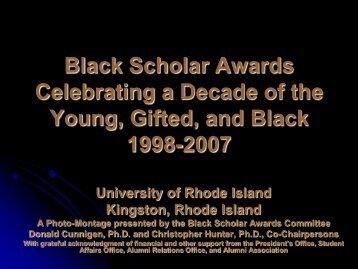 Slide Show (PDF) - University of Rhode Island