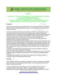 Symbiose - Akademie für Tierschutz- und Wildtierforschung