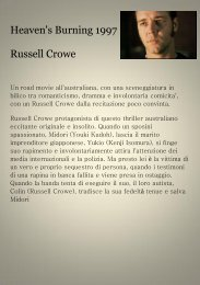 Heaven's Burning 1997 Russell Crowe
