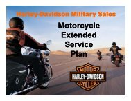 Motorcycle Extended Service Plan - Encs.com